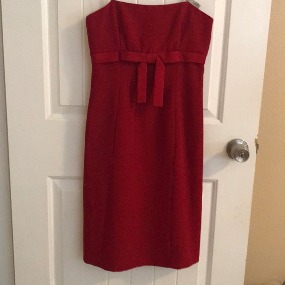 Laundry By Shelli Segal Dresses & Skirts - Strapless red dress